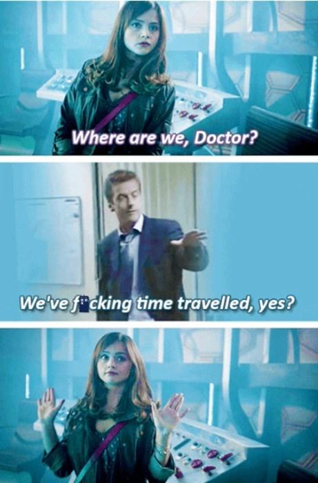 clara oswin oswald Peter Capaldi curse 12th Doctor - 8397757440