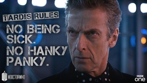 rules tardis 12th Doctor sexy times - 8397768192