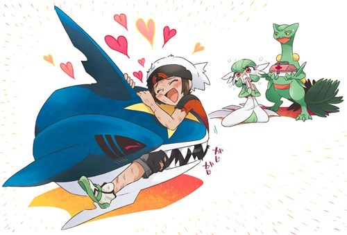 Pokémon gruesome sharpedo pokemon amie - 8397774080