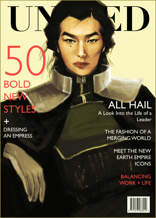 magazine cover kuvira book 4 Fan Art korra - 8397800704