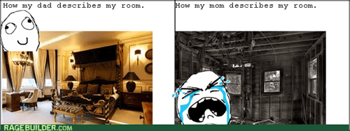 dad,bedroom,mom,perception