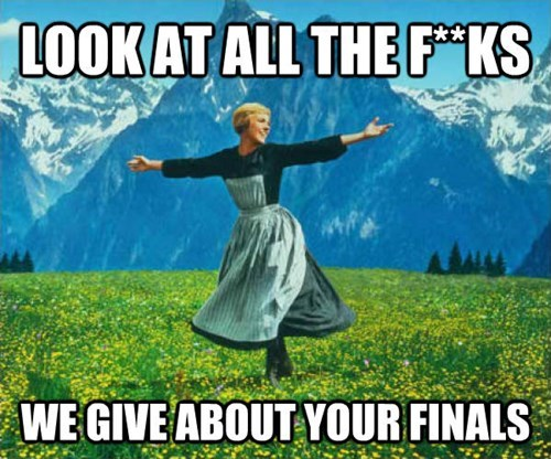 school look at all the finals - 8397913344