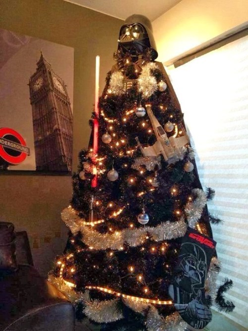 christmas,christmas tree,star wars,nerdgasm,g rated,win