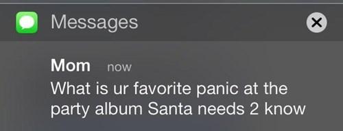 christmas,mom,texting