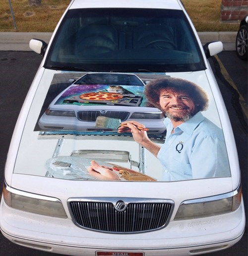 cars,bob ross,DIY,paint job,g rated,win