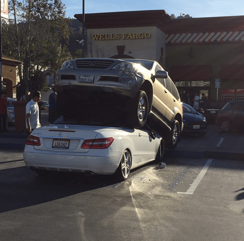 accident,cars,whoops,parking