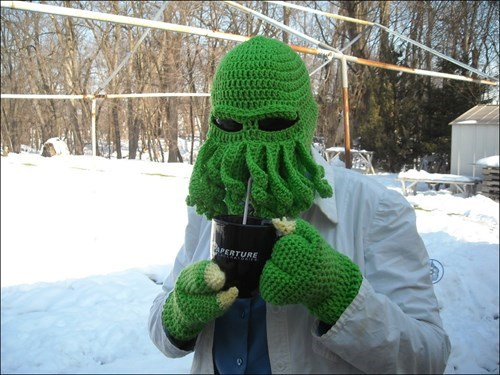 cthulhu lovecraft nerdgasm winter - 8397958144