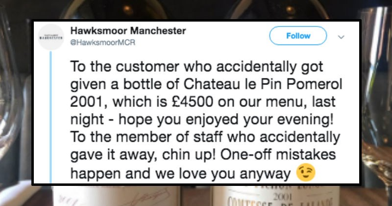 cool twitter fired FAIL job wine restaurant tweets funny tweets expensive funny - 8398085