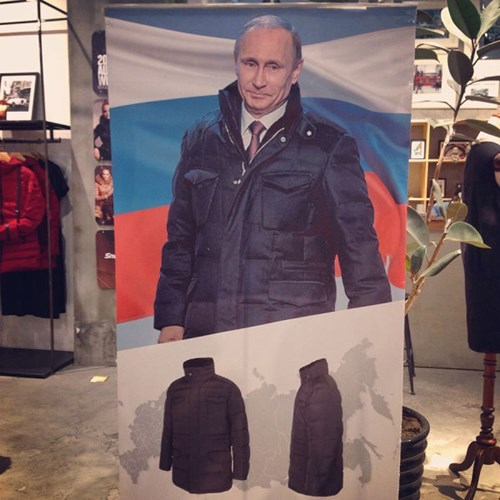 poorly dressed,coat,Vladimir Putin
