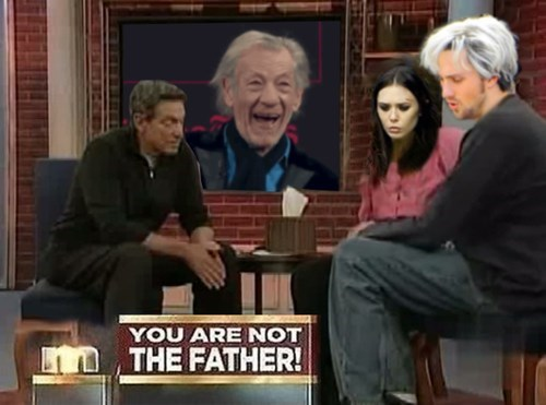 maury povich scarlet witch you are not the father quicksilver Magneto - 8398458112