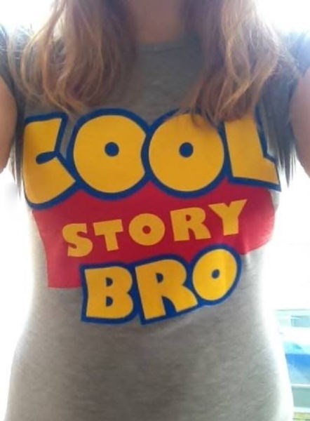 toy story poorly dressed parody cool story bro - 8398477568
