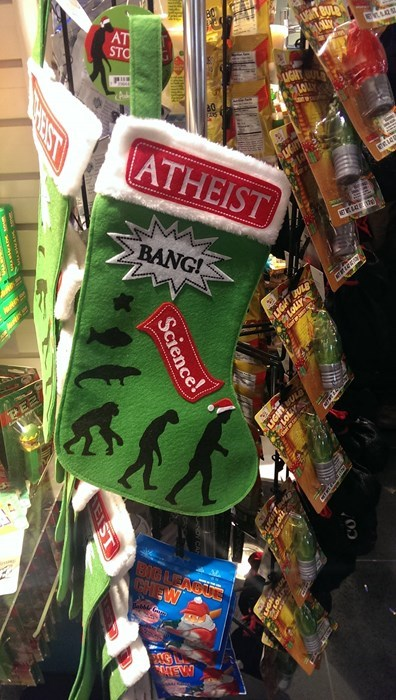 christmas atheism so euphoric stockings - 8398530560