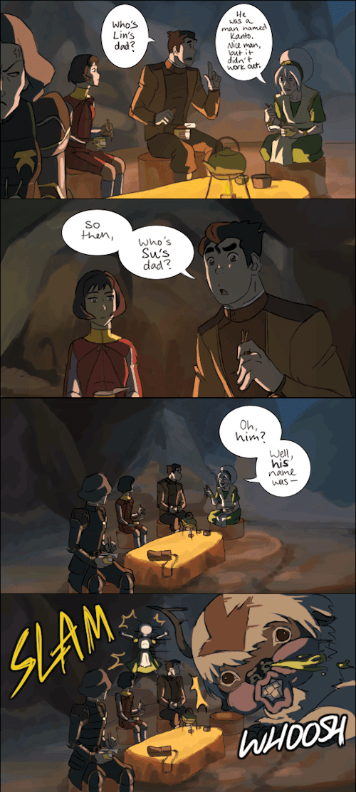 who the heck is kanto book 4 Fan Art korra - 8398592512