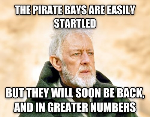obi-wan kenobi,star wars,piracy,the pirate bay