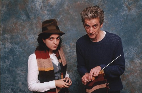 12th Doctor,convention,scarf,Whovian,Peter Capaldi