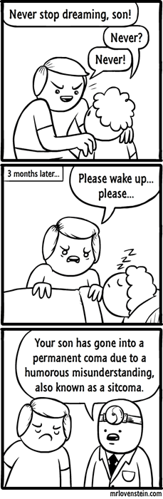 dreams sad but true sleeping web comics - 8398704128