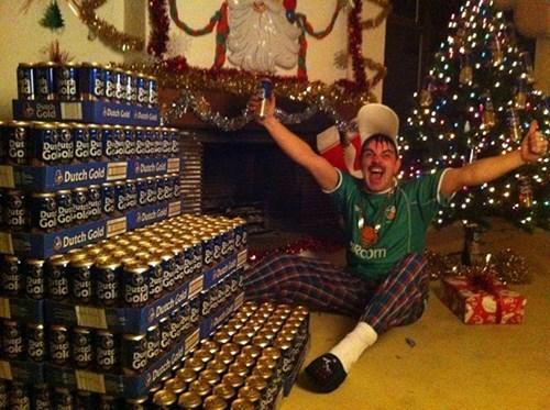 beer christmas rednecks dutch gold - 8398714624