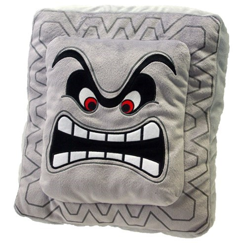 for sale mario Pillow thwomp - 8398717440