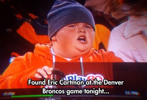 nfl South Park Denver Broncos eric cartman football - 8398744064