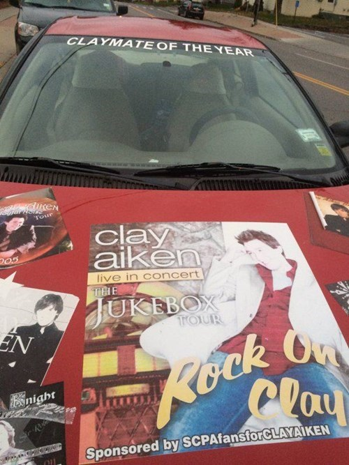 Clay Aiken,wtf,cars
