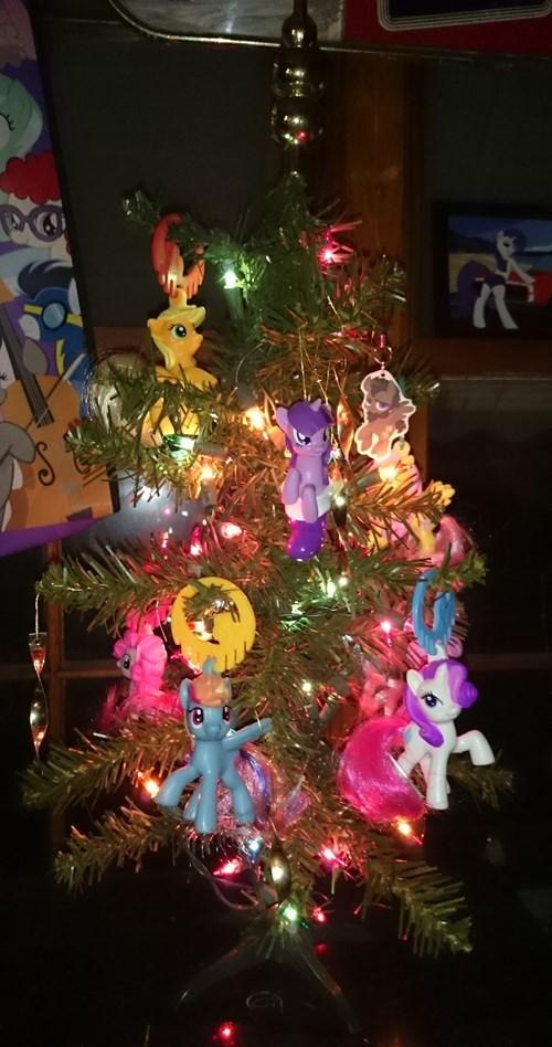christmas toys christmas tree brony MLP - 8398792704