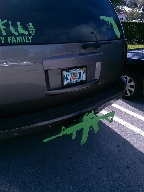 guns florida bumper stickers - 8398794496