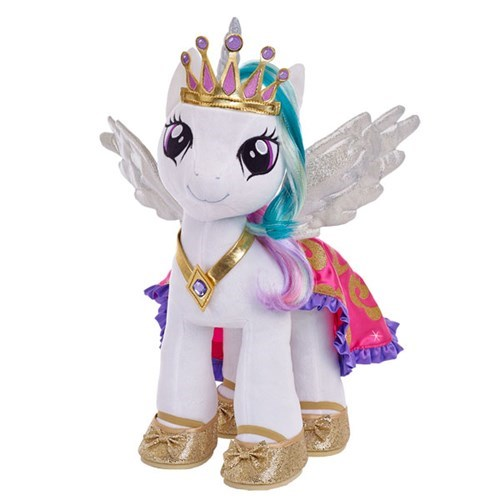 Plushie princess celestia build a bear - 8398800128