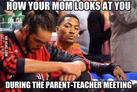 meeting kids teacher funny parents - 8398995200
