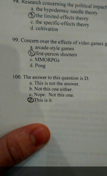 doozy,test,funny,exams