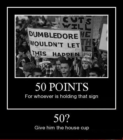 sign Harry Potter dumbledore funny - 8399020544
