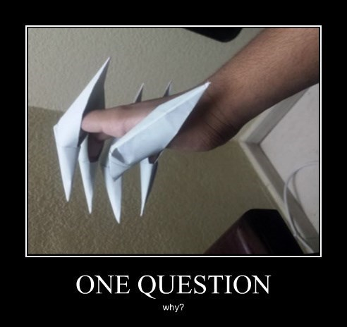 question fingers claws funny - 8399022336