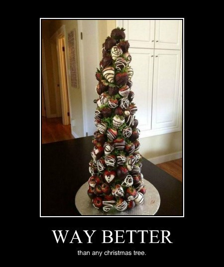 christmas strawberries tree funny - 8399022592