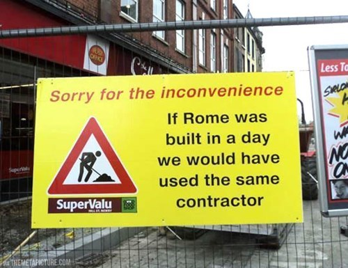 monday thru friday,sign,construction,g rated