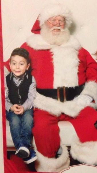 christmas kids expression parenting santa - 8399363072