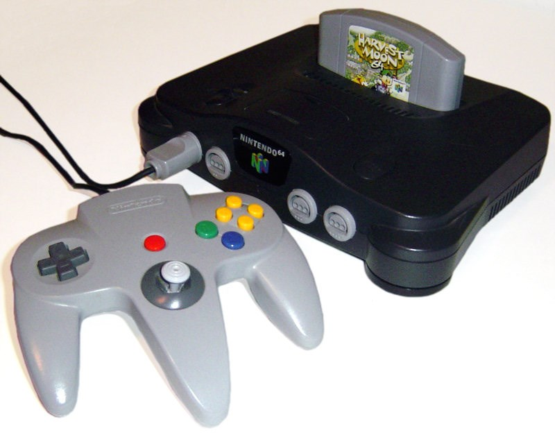 birthday Video Game Coverage nintendo 64 video games nintendo
