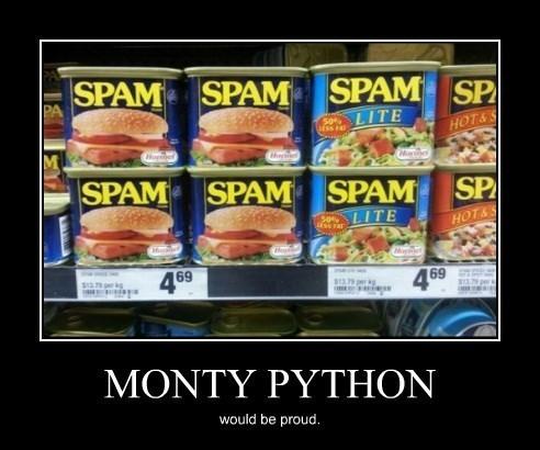 monty python funny spam - 8399431168