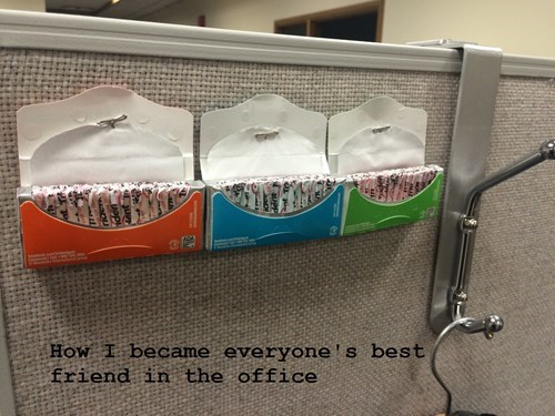 coworkers,gum,monday thru friday,popular,g rated