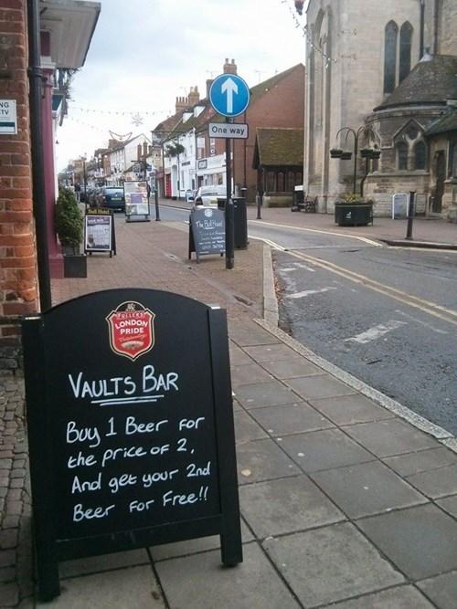 beer,funny,sign,pub