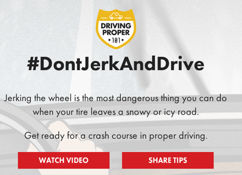 driving,dont jerk and drive