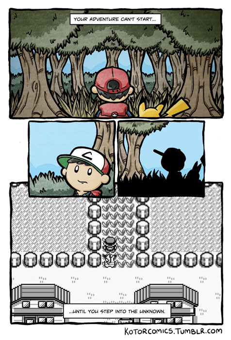 Pokémon nostalgia web comics - 8399565312