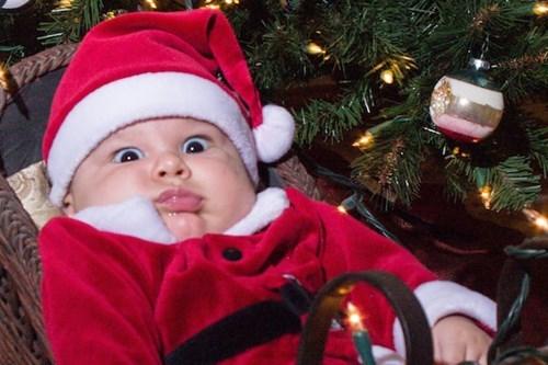 christmas baby parenting santa - 8399582976