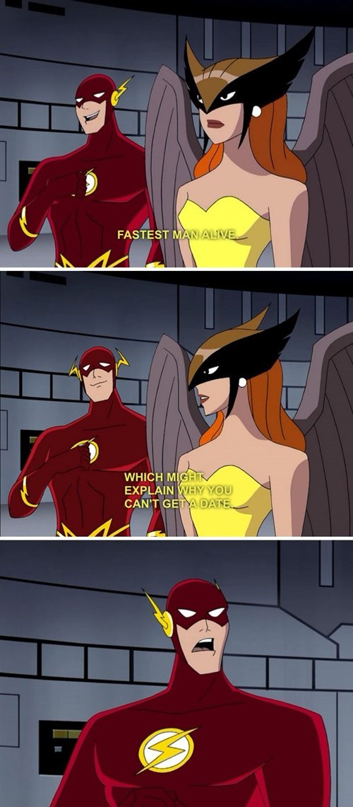 DC justice league cartoons the flash - 8399628032