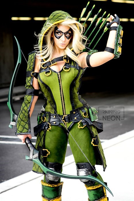 cosplay DC green arrow crossplay