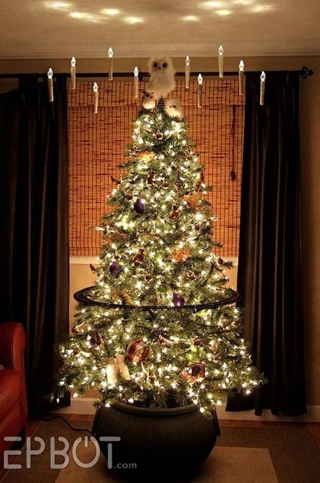 christmas Harry Potter christmas tree tree g rated win - 8399676416