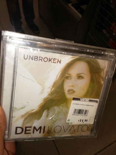 Music CD broken irony - 8399723264