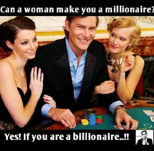 gambling billionaire funny women - 8399833344