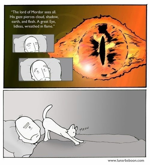 sauron gross Cats web comics - 8399853568