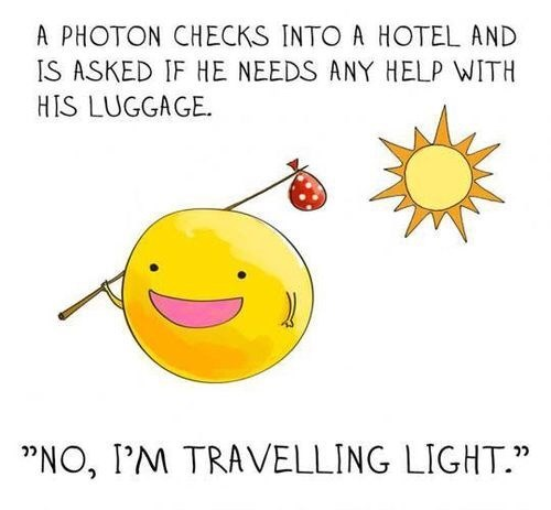 photons light science funny