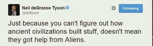 Aliens,archeology,Neil deGrasse Tyson,funny