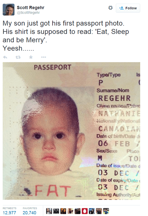 kids Photo passport parenting poorly dressed